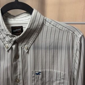 Hollister casual button down size Large